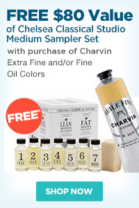 Charvin Fine and Extra Fine Artist Oils