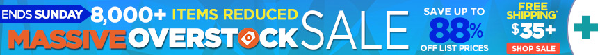 MASSIVE Reduction Sale on Overstocks and Clearance Items- Ends Sunday