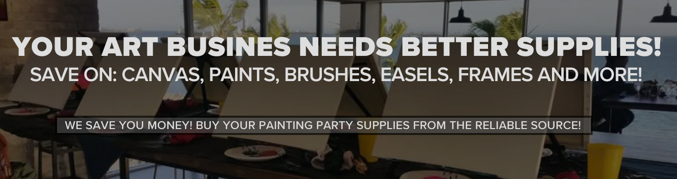 Art Painting Party Supplies for Art Parties and Businesses