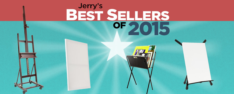 Best Selling Art Supplies of 2014