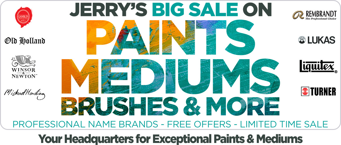 Big Paints and Mediums Sale