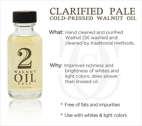 Clarified Pale Cold-Pressed Walnut Oil