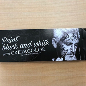 FREE Cretacolor Set of 3 pencil sampler*