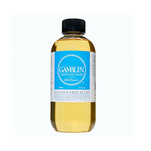 FREE Gamblin 2oz Solvent-Free Fluid Medium*