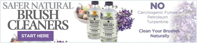 Safer all Natural Brush Cleaner