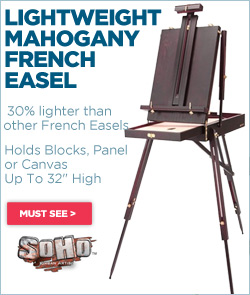 Soho Lightweight French Easel