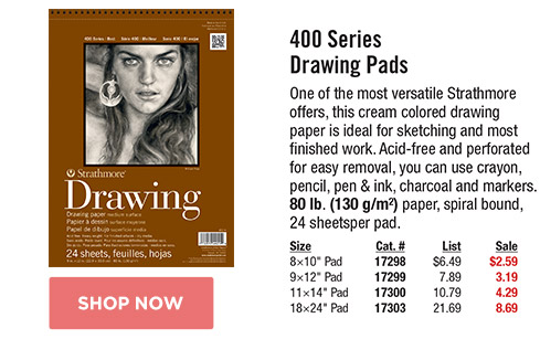 400 Series Drawing Pads