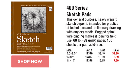 400 Series Sketch Pads