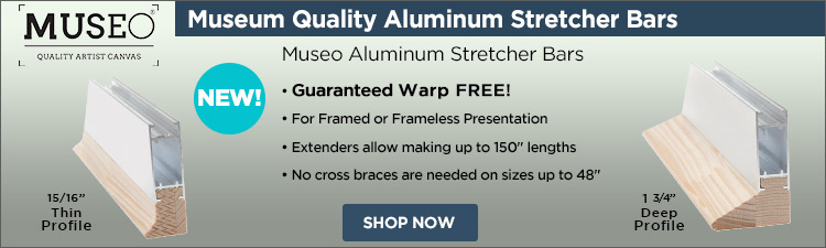 Museo Aluminum Stretcher Bars