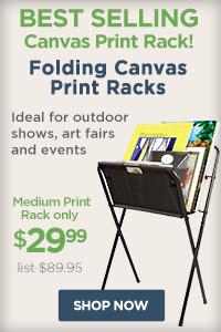 Medium Folding Print Rack