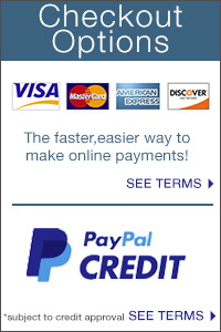 We make it easy for you to check out! Use PayPal Credit
