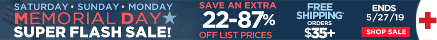 3 Day Memorial Day Super Flash Sale - Savings on Top Sellers in all Categories