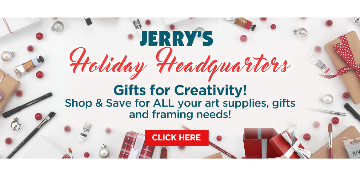Make it a Memorable Holiday with Great Art Gifts from Jerry's Artarama