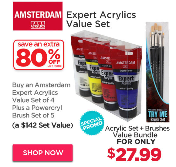 Amsterdam Expert Acrylic Set + Offer