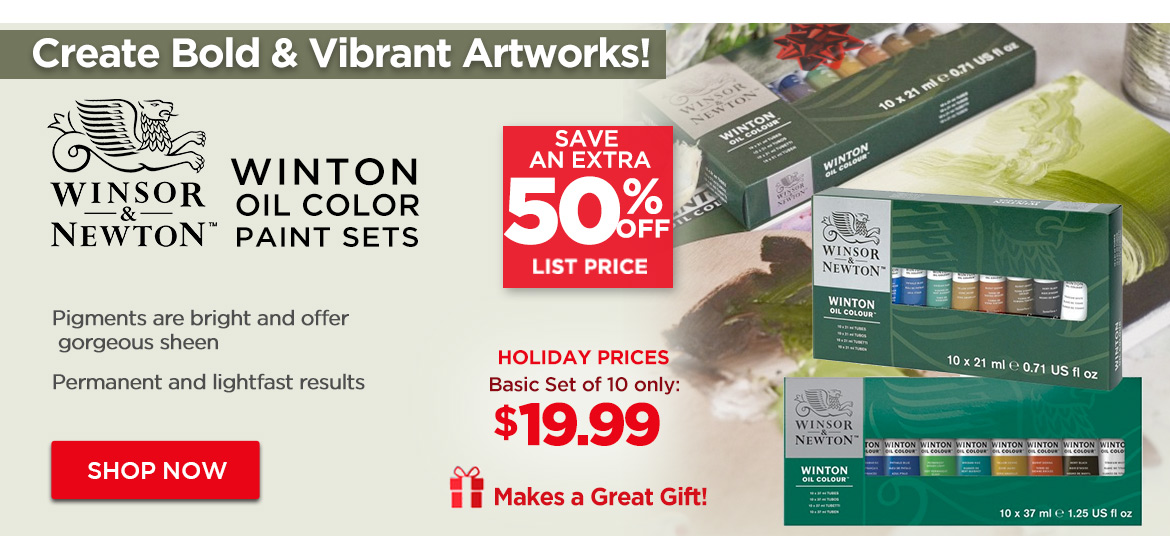 Winton Oil Paint Sets by Winsor & Newton